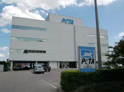 Las instalaciones de PETA, que se sostienen con las donaciones de sus miembros Foto: whypetakills.org