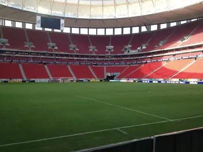 Estádio Mané Garrincha está pronto e recebeu jogos da Série A em 2013 Foto: Anderson Regio / Terra