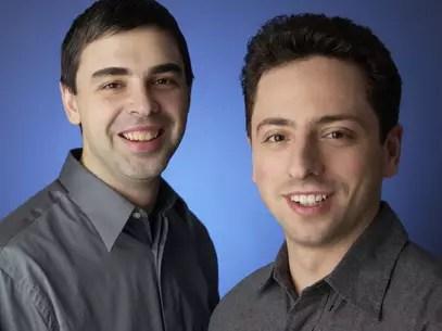 Jornal afima que os os cocriadores do Google, Larry Page e Sergey Brin,não se falam mais Foto: Divulgação