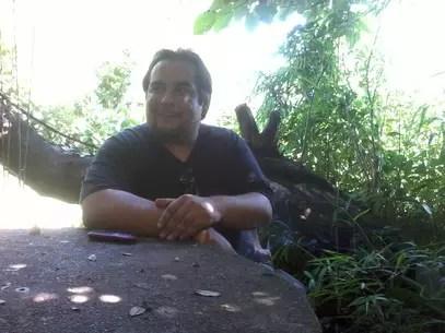 Julio Rey, líder da Movida Cannabica de Florida, o primeiro coletivo de defesa do uso da droga fora da capital uruguaia Foto: Denise Mota / Especial para Terra
