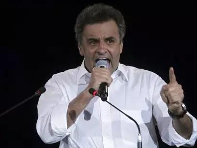 Aécio Neves,durante convenção do PSDB em dezembro de 2012 Foto: Ueslei Marcelino / Reuters
