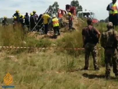 Não se sabe se há mortos ou feridos  Foto: Vídeo Aljazeera / Reprodução