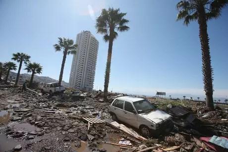 Terremoto de magnitude 8,4, na quarta-feira passada, deixou 13 mortos e mais de nove mil afetados
