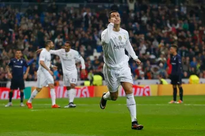 Cristiano Ronaldo anotó cuatro goles.