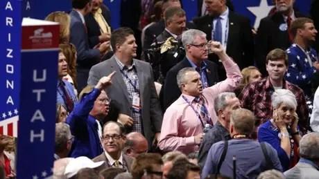 Delegados contrários a Trump fracassaram na última tentativa de nomear outro candidato