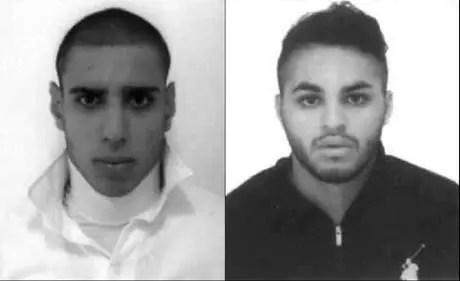 Ricardo Martins do Nascimento (à direita) foi preso na noite dessa terça-feira (27). O outro suspeito, Alípio Rogério Belo dos Santos, continua foragido.