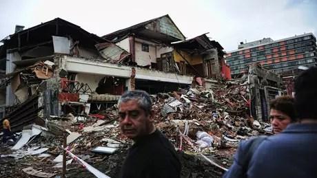 Em 2010, Chile declarou Estado de emergência em algumas cidades, como Concepción