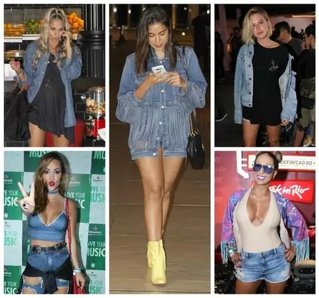 Famosas com jeans