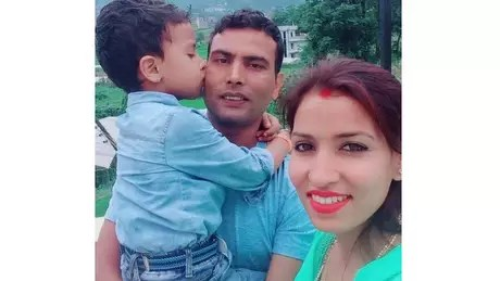 Nitu e Balaram se conheceram em um evento de gestão hoteleira e se apaixonaram Fonte: Arquivo pessoal