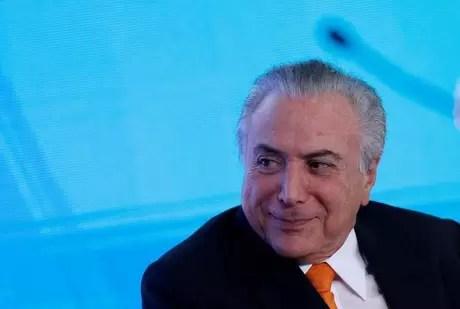 Presidente Michel Temer durante cerimônia no Palácio do Planalto, em Brasília 09/11/2017 REUTERS/Adriano Machado