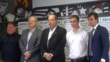 Anderson Barros, Nelson Mufarrej, Carlos Eduardo Pereira, Felipe Conceição e Gustavo Noronha (Foto: Felippe Rocha)