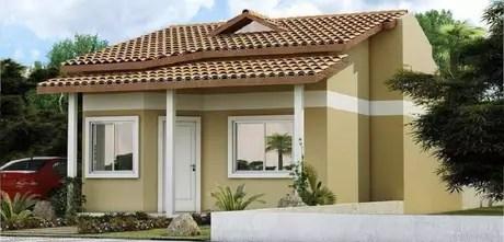 casa casas simples frente modelos fachada pequena pequenas projeto bonita cores muito pinturas hermosas inspirar seu pintura modernas um telhado
