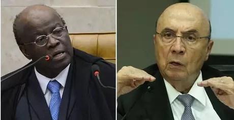 Joaquim Barbosa e Henrique Meirelles: possíveis candidatos de PSB e MDB