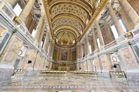 Palácio de Caserta, na Itália