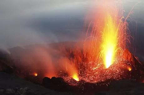 Monte Etna, na Itália