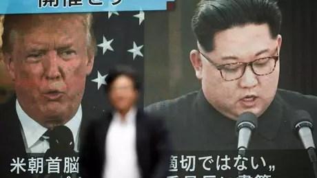 Trump e Kim devem se reunir em 12 de junho