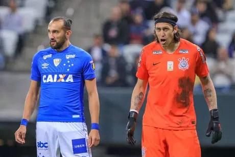 Cássio voltou a ser Cássio no gol do Corinthians