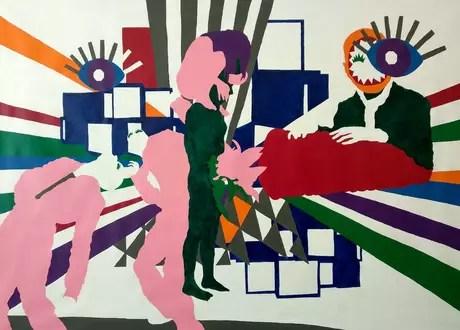 Obra 'Birth of an Artist', de Gidi Gilam. Foto: Divulgação/Parte
