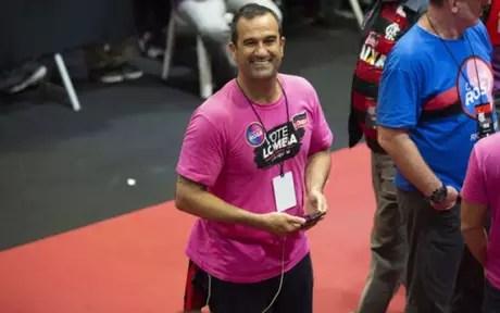Lomba foi o segundo colocado na eleição (Foto: Celso Pupo/Fotoarena)