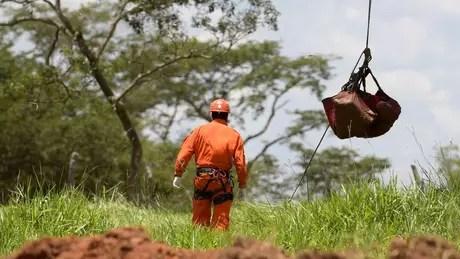 Até esta terça-feira, havia 336 pessoas mortas ou desaparecidas no rompimento da barragem da mina Córrego do Feijão