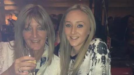 A mãe de Hannah, Christine, doou um de seus rins à filha