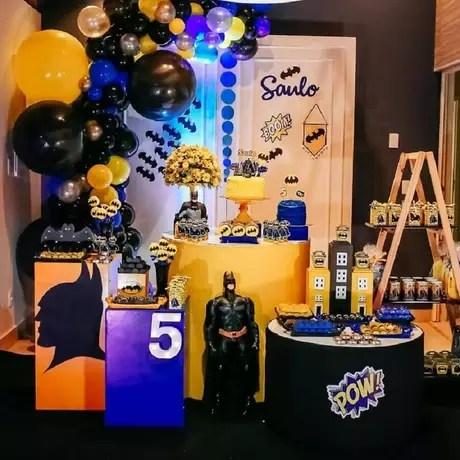 Festa do Batman Saiba como Decorar 62 Inspiraes