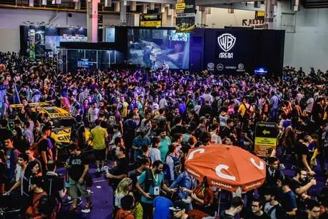 12ª edição do evento terá 400 estandes das principais marcas da indústria dos games