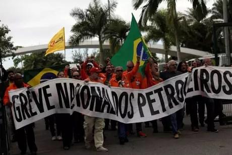Empregados da Petrobrás ligados à Federação Única dos Petroleiros (FUP) marcaram greve para 25 de novembro de 2019