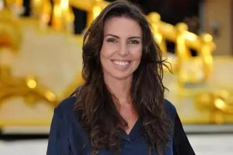 Glenda Kozlowski foi a convidada do 'De Casa com o LANCE' desta segunda (Alex Carvalho / TV Globo/Divulgação)