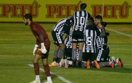 Jogadores do Botafogo (Foto: Vítor Silva/Botafogo)