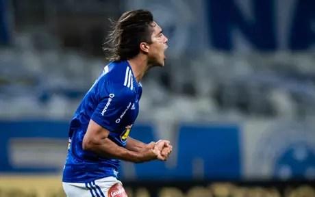 Moreno tem 3 gols na temporada (Foto: Bruno Haddad/Cruzeiro)
