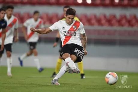 Montiel desperta o interesse do Benfica nesta janela de transferências (Foto: Diego Haliasz / River Plate)
