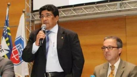 Ednaldo Rodrigues, interim president of the CBF, denied the accusation made against him in a broadcast on TV Globo