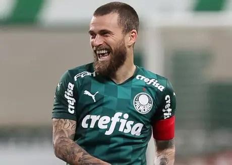 Lucas Lima arrived at Palmeiras in 2018 (Photo: Cesar Greco/Palmeiras)