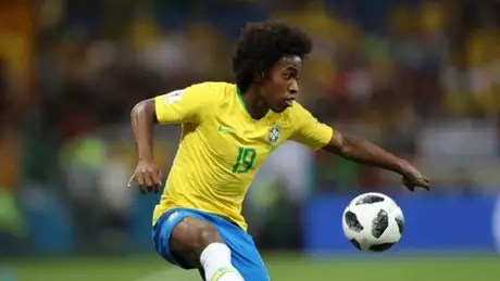 Willian was the holder of the Brazilian national team at the 2018 World Cup, in Russia (Photo: Lucas Figueiredo/CBF)