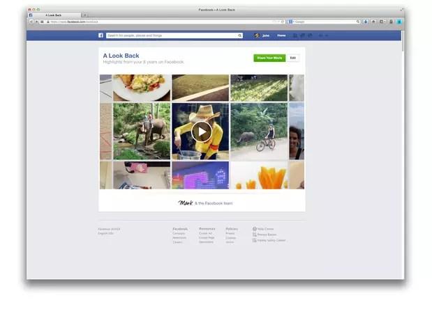 news feed look back - Facebook cria retrospectiva para comemorar aniversário