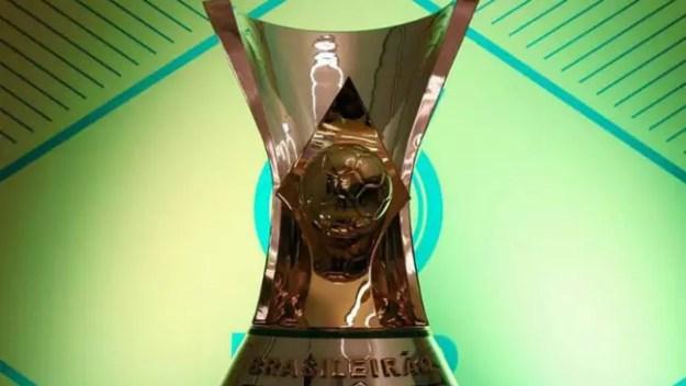 Taça de campeão do Campeonato Brasileiro