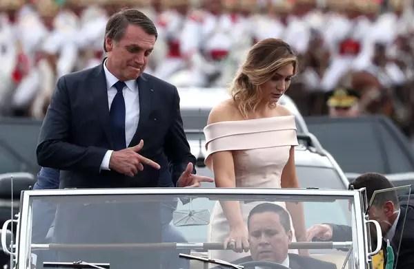 Veja fotos da cerimônia de posse de Bolsonaro