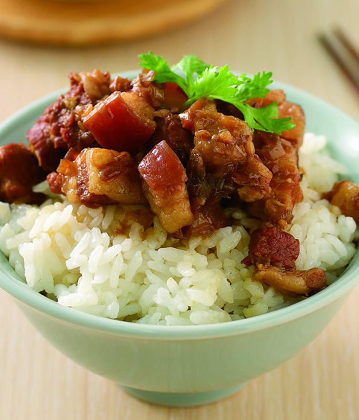 【食譜】傳統滷肉飯:www.ytower.com.tw