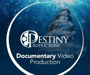 Destiny Productions is based in Calgary, Alberta Canada.