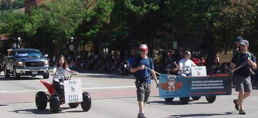 113th Annual Strawberry Parade in Glenwood Spring, Colorado