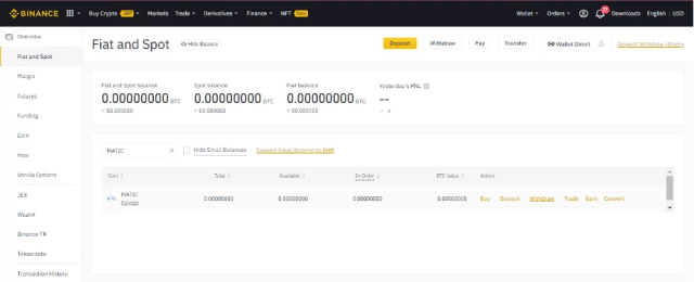 Withdraw To Metamask From Binance