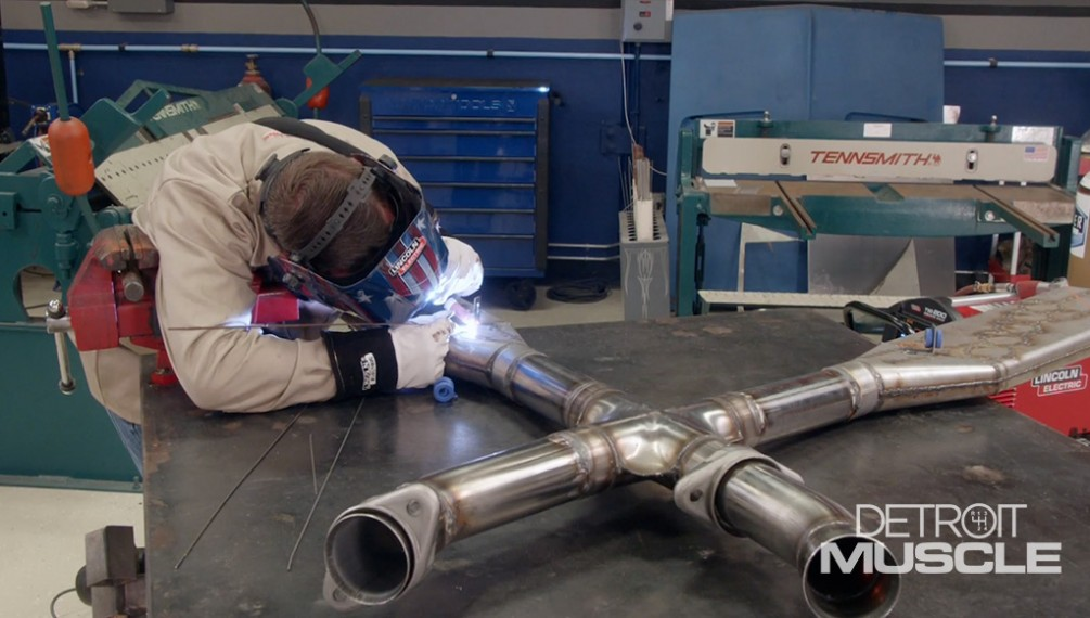 nascar style exhaust system