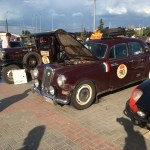 2016 Peking to Paris Road Rally - 1955 Lancia B12 - Blueridge Motorwerks - Schebish Brothers - Nutrition for Good - World Food Program
