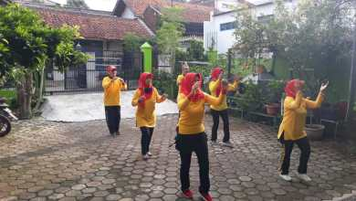 Photo of PMP Cabang Bandung UjungBerung Senam Melalui Virtual