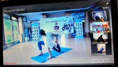 Photo of Yoga Virtual YFC Yakes  Jabar (25-02-2021) Dan Yoga Sebagai Penenang Pikiran