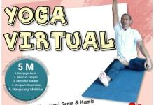 Photo of Senam Virtual Yoga (08-03-2021) Dan Manfaat Yoga Bagi Lansia