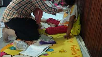 Photo of dr Priscila Melakukan Home Visit Kpd 3 PMP Anggota P2Tel Cabang Pontianak