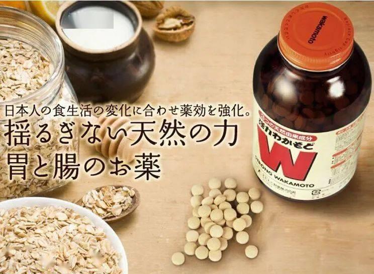 小S推薦日本WAKAMOTO若素若元腸胃錠W胃1000粒消化酵素!_胃腸