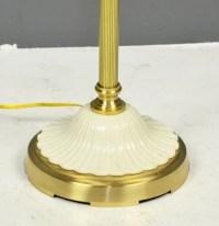 A FINE LENOX FLOOR LAMP : Lot 172